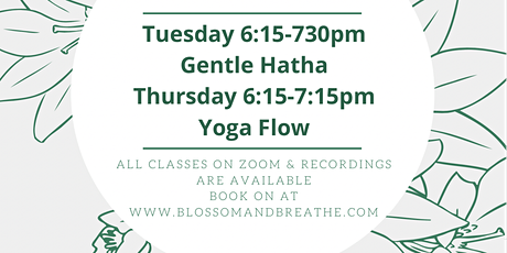Gentle Hatha Yoga tickets