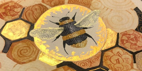 Zentangle® Meets Watercolor -  Bee Zen tickets