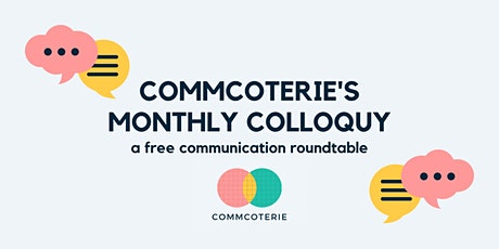 Monthly Colloquy tickets
