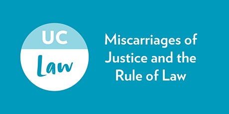 Miscarriages of Justice and the Rule of Law tickets