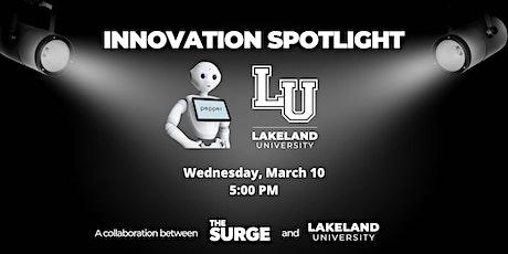 Innovation Spotlight: Lakeland University's Emotion-Reading Robot tickets