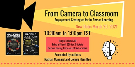 Shifting from Cameras to Classrooms: Engagement Strategies tickets