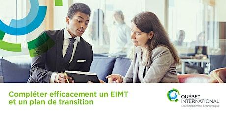Compléter efficacement un EIMT et un plan de transition billets