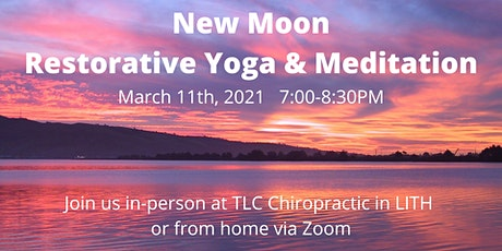 New Moon Restorative Yoga & Meditation tickets