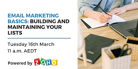 Educational webinar: Building and Maintaining Your Lists tickets