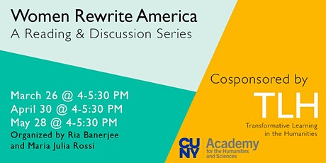 Women Rewrite America: A Reading & Discussion Series tickets