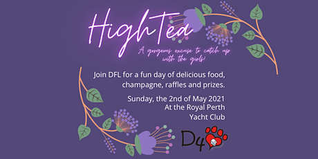 DFL's High Tea Afternoon tickets
