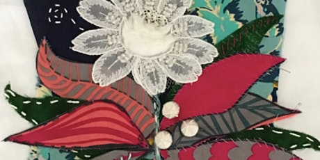 Slow Stitching with Teresa: Class 3, Flower tickets
