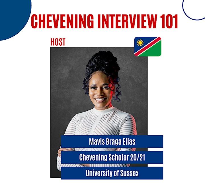 Chevening Interviews 101 - Zoom Workshop image