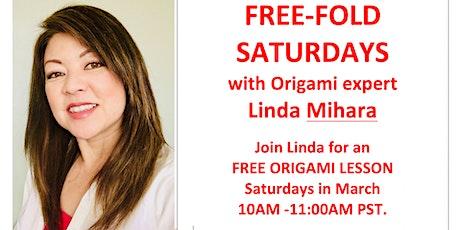 Free Fold Origami Saturday - Money Folds! St Patty's Day tickets