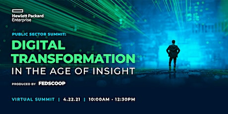 HPE Public Sector Summit 2021 Tickets