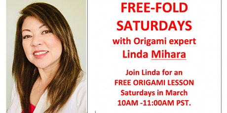Free Fold Origami Saturday - Spring Flowers tickets