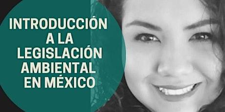 INTRODUCCIÓN A LA LEGISLACIÓN AMBIENTAL EN MÉXICO entradas