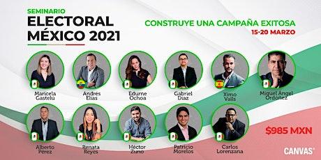 Seminario Electoral México 2021 boletos