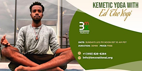 Kemetic Yoga: With Ed The Yogi tickets