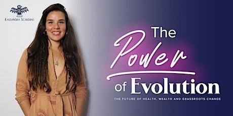 The Power of Evolution with Kassandra Scardino tickets