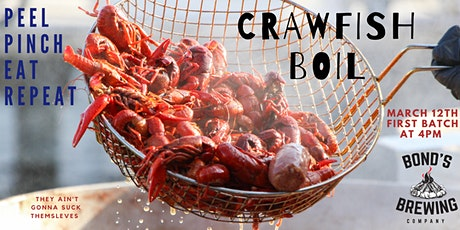 Crawfish Boil tickets