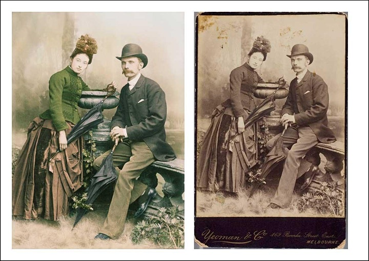 Researching, Preserving and Restoring old Photographs image