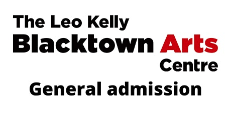 Blacktown Arts | General Admission tickets