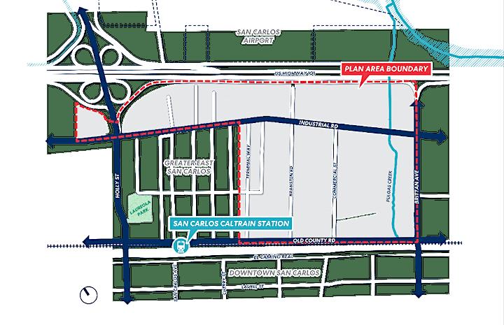 San Carlos East Side Innovation District Vision Plan Workshop 1 image