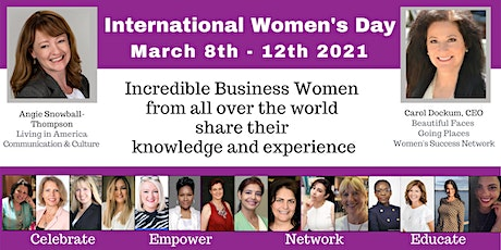 International Women's Day - Celebration Week tickets