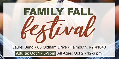 Family Fall Festival (18+) tickets