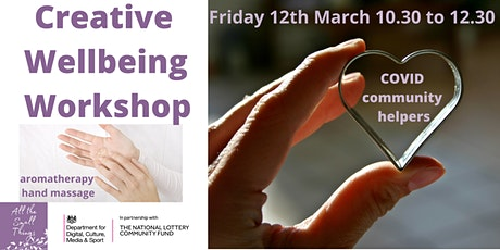 Creative wellbeing workshop for Community Helpers tickets