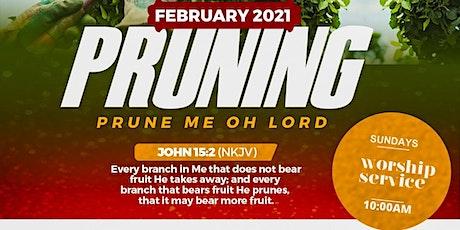 Sunday, February 28th 2021 Worship Service tickets