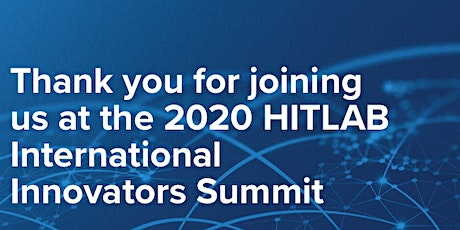2021 HITLAB Innovators Summit tickets