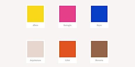 El Color de la Memoria entradas