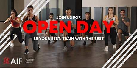 AIF Open Day Brisbane tickets