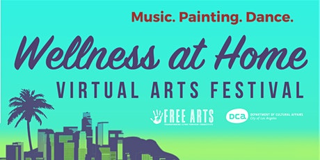 Wellness at Home Virtual Art Festival tickets