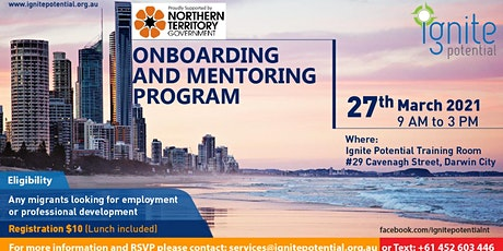 Onboarding and Mentoring Program - Batch 7 tickets