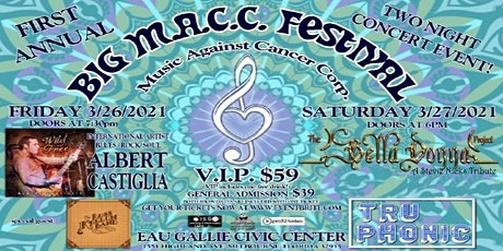 Albert Castiglia, Bella Donna Project, RKB , Tru Phonic presents BIG MACC tickets