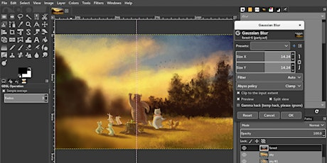 Open Source Graphic Design: an Introduction to GIMP tickets
