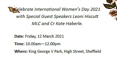 International Women's Day Garden Party Kentish tickets