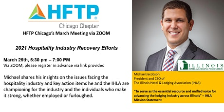 Hospitality Industry Recovery Efforts for Chicago, Illinois tickets