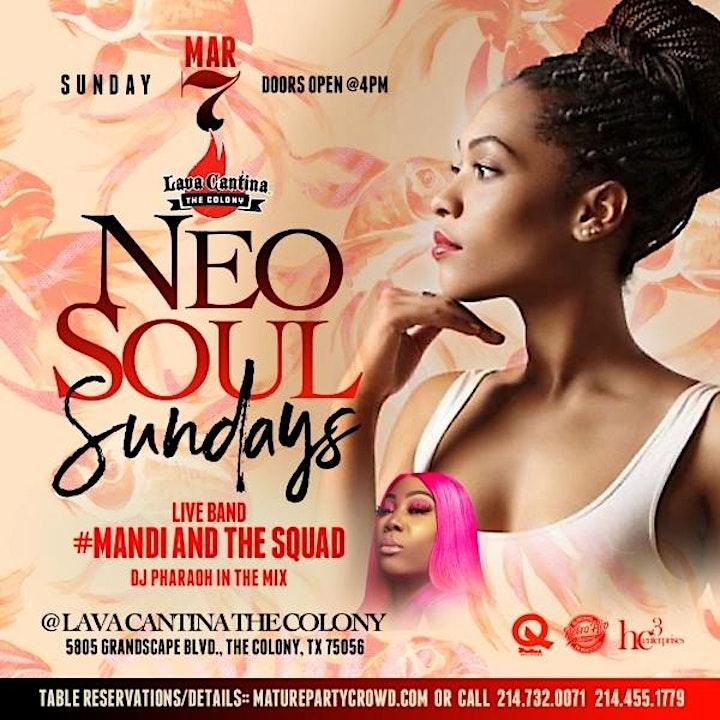 NEO SOUL SUNDAYS feat #MANDI and the Squad image