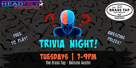 Trivia at The Brass Tap - Domain Austin tickets