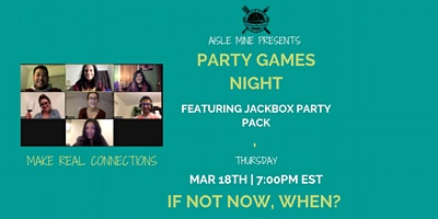 March – Party Games Night