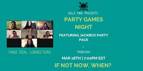 March - Party Games Night tickets