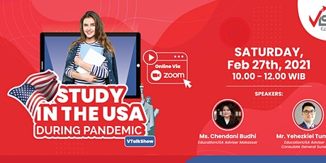 Exclusive with EducationUSA  : Study in the USA During Pandemic tickets