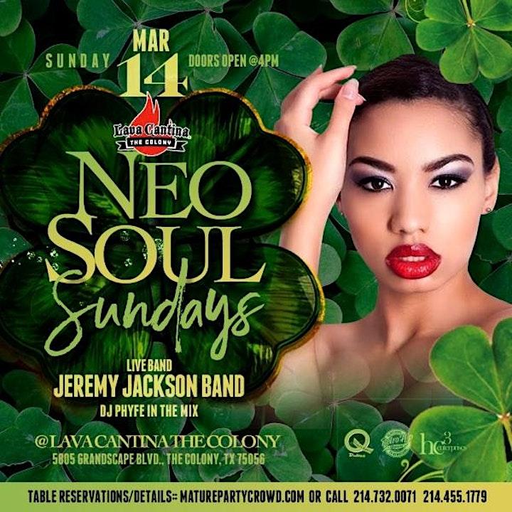NEO SOUL SUNDAYS feat The Jeremy Jackson Band image
