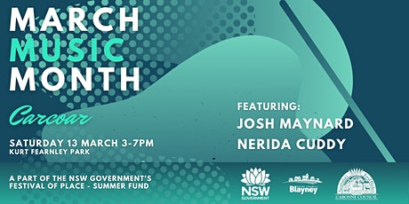 Carcoar  - March Music Month tickets