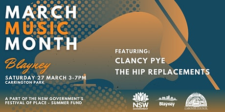 Blayney - March Music Month tickets