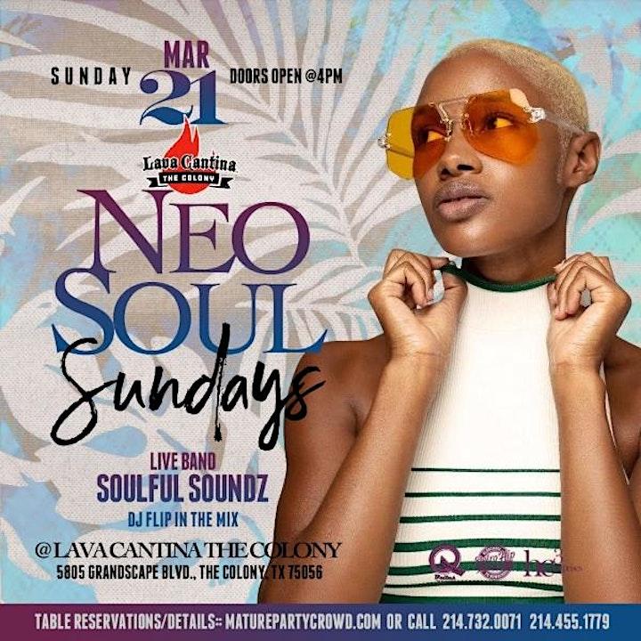 NEO SOUL SUNDAYS feat SoulfulSoundz The Band image