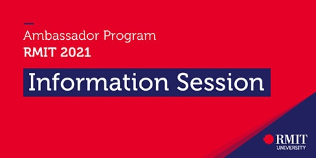 Ambassador Information Session tickets