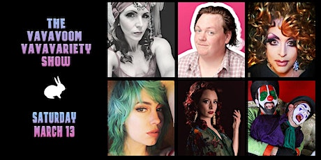 VaVaVoom VaVaVariety Show (Burlesque/Drag/Comedy) tickets
