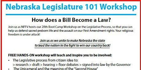 Legislature 101 Workshop tickets