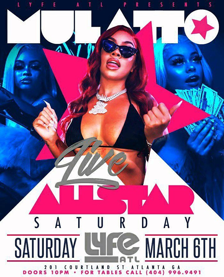Mulatto Takes Over Baller's Weekend @ Lyfe/Free B4 11pm /SOGA ENT/3 image